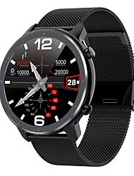 cheap -L11 Fitness Tracker Support ECG+PPG/ Blood Pressure/ Blood Oxygen Monitoring IP68 Waterproof Smartwatch for Samsung/ Iphone/ Android Phones