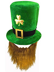 cheap -Holiday Decorations Saint Patrick day Forest Green hat 1pc