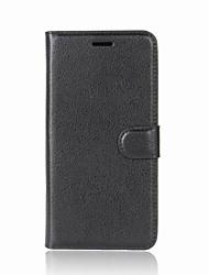 Недорогие -Кейс для Назначение Nokia Nokia 9 / Nokia 9 PureView / Nokia 8 Кошелек / Бумажник для карт / Флип Чехол Однотонный Кожа PU / ТПУ