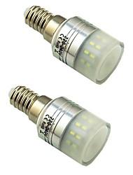 cheap -2pcs 3 W LED Corn Lights 300 lm E14 T 36 LED Beads SMD 3014 Decorative Warm White White 220-240 V
