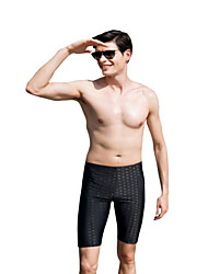cheap -Men's Black Bottoms Swimwear Swimsuit - Solid Colored One-Size Black