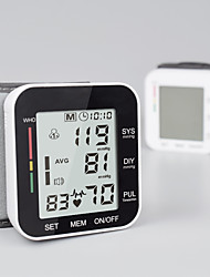 cheap -Electronic blood pressure monitor Chinese and English wrist-type voice measuring instrument LCD digital display
