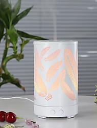 Недорогие -металл красочный ароматерапия лампа 100 мл ультразвуковой бесшумный распыление эфирного масла простой творческий утюг ароматерапия машина