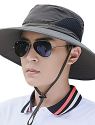 cheap -Mens Quick Dry Neck Cover Sun protection Fishing Bucket Hat