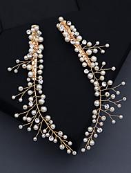 cheap -Women's For Wedding Anniversary Gift Formal Imitation Pearl Golden 2pcs