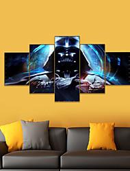 Недорогие -Amj горячая распродажа аниме воин wulian живопись гостиная диван фон отделка стен картина холст безрамное ядро