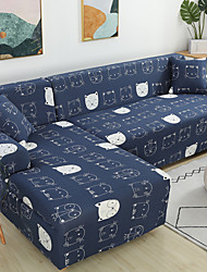 Недорогие -эластичные чехлы секционные эластичные чехлы для диванов для гостиной диванные чехлы для кресел в форме буквы l одно / два / три сиденья