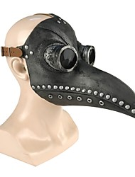 cheap -Plague Doctor Mask Men's Polyester Silver Brown 1pc / pack Adults Sports & Outdoor