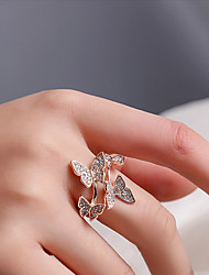 cheap -Women's Ring Open Ring 1pc Rose Gold Gold Silver Alloy Stylish Fashion Wedding Party Jewelry Lovely