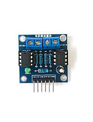Недорогие -Модуль привода двигателя постоянного тока с двусторонним положительным и отрицательным вращением