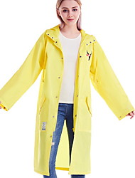 cheap -Women's Sports Spring &  Fall Long Trench Coat, Solid Colored Hooded Long Sleeve Others Yellow / Blue / Red