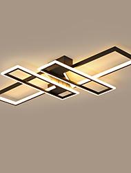 cheap -Nordic Style LED Ceiling Light Rectangle Modern Living Room Dining Room Bedroom Ceiling Lamp