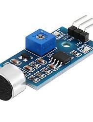 Недорогие -модуль датчика звука микрофона датчик голоса высокая чувствительность обнаружения звука