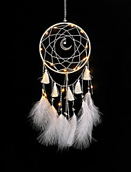 cheap -home decor dream catchers handmade feather dreamcatcher  for Car kids bed room decoration craft