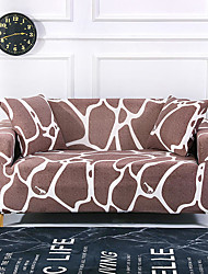 cheap -Art Print Dustproof Stretch Slipcovers Stretch Sofa Cover Super Soft Fabric Couch Cover (You will Get 1 Throw Pillow Case as free Gift)