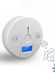 cheap -Independent Carbon Monoxide Sensor Detector CO Alarm with Digital LCD Display and 85dB Voice Warning Battery Operated
