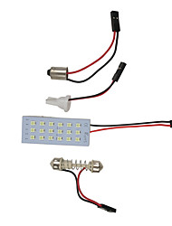 cheap -OTOLAMPARA 1pcs 31mm / 41mm / 36mm Car Light Bulbs 9 W SMD 3030 720 lm 18 LED Interior Lights For universal All Models All years