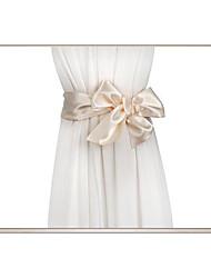 cheap -Silk Like Satin Wedding / Party / Evening Sash With Belt Women's Sashes