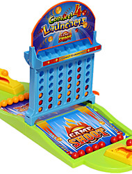 cheap -1 pcs Table Arcade Game Basketball Shooting Game Desk Games Plastic Family Interaction 2 Players Finger Ejection Basketball Kid's Adults' Party Favors  for Kid's Gifts