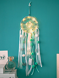 cheap -Dream Catcher Hanging Girl Heart Diy Wind Chimes Bedroom Room Air Pendant Make Up Dream Bell Creative Gift
