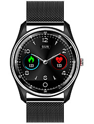 cheap -M9 Unisex Smartwatch Bluetooth Heart Rate Monitor Blood Pressure Measurement Sports Long Standby Exercise Record Timer Stopwatch Pedometer Call Reminder Sleep Tracker