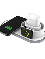 cheap -2/3/10 W 3 in 1 Wireless Chargers / Wireless Charger USB Charger Universal Wireless Charger / Qi 2 A DC 9V / DC 5V for Apple Watch Series 4 / Apple Watch Series 4/3/2/1 / Apple Watch Series 3