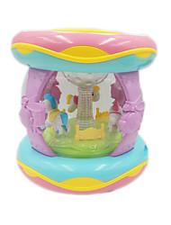 cheap -Music Drum Lights Music Sound Plastics Unisex Baby 1 pcs Graduation Gifts Toy Gift