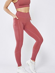 cheap -Women's Sporty Sweatpants Pants - Solid Colored Army Green Red Black S M L