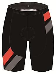 Недорогие -21Grams Муж. Велошорты Велоспорт Шорты Шорты с защитой Брюки Дышащий 3D-панель Быстровысыхающий Виды спорта В полоску Пэчворк Черный Горные велосипеды Шоссейные велосипеды Одежда Одежда для велоспорта