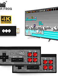 cheap -Data Frog Mini 4K Y2 Video Game Console Dual Players and Retro Build in REAL 568 Classic Games Wirless Controller HDMI/AV Output Y2 Console