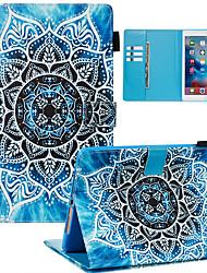 cheap -Case For Apple iPad Mini 3/2/1 / iPad Mini 4 / iPad Mini 5 Dustproof / with Stand / Flip Back Cover sky PU Leather