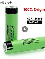 Недорогие -100% новый оригинальный ncr18650b 3.7 В 3400 мАч 18650 литиевая аккумуляторная батарея для фонарика батареи