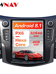 cheap -ZWNAV 10.4inch 1din 4GB 64GB Tesla style Android 8.1 Car GPS Navigation Car multimedia Player CAR DVD player For NISSAN NP300 Navara 2014