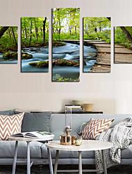 cheap -5 Panels Modern Canvas Prints Painting Home Decor Artwork Pictures DecorPrint Rolled Stretched Modern Art Prints Landscape Botanical