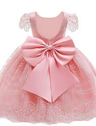 cheap -Kids Girls' Rainbow Dress Light Brown