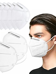 cheap -10/20/50 pcs KN95 CE FFP2 Face Mask Respirator Protection In Stock CE Certified Certification White