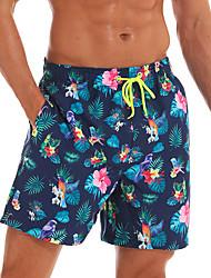 cheap -Men's Sporty Basic Slim Loose Chinos Shorts Pants Floral Tropical Animal Sun Flower Fantastic Beasts Classic Sporty Floral Navy Blue US34 / UK34 / EU42 US36 / UK36 / EU44 US38 / UK38 / EU46 / Print