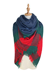 cheap -Women's Basic Square Scarf - Striped