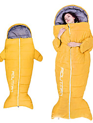 cheap -Sleeping Bag Outdoor Camping Garment 0~5 °C Hollow Cotton Thermal / Warm Windproof Rain Waterproof Fast Dry All Seasons for Camping / Hiking / Caving Traveling Picnic