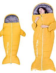 Недорогие -Спальный мешок на открытом воздухе Походы Детский 0~5 °C Пористый хлопок Сохраняет тепло С защитой от ветра Дожденепроницаемый Быстровысыхающий Все сезоны для