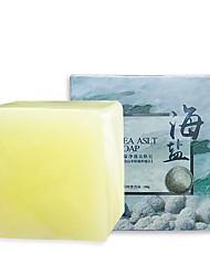 Недорогие -100 г удаление прыщей поры лечение угрей морская соль мыло-очиститель увлажняющий козье молоко мыло по уходу за лицом мыть основу мыло-2 шт