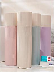 cheap -Storage Organization Cosmetic Makeup Organizer Plastic Round Portable travel box