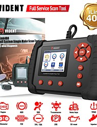 cheap -VIDENT iLink400 Full System Scan Tool Single Make Support ABS/SRS/EPB/DPF Regeneration/Oil Reset OBD2 Automotive Scanner Code Reader Professional Car Diagnostic Tool OBD2 Scanner