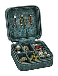 cheap -Jewelry Box - Wooden Black, Blue, Green 10 cm 10 cm 5 cm / Women's