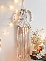 cheap -Boho Dream Catcher Handmade Gift Wall Hanging Decor Art Ornament Craft Woven Macrame Nordic Bead for Kids Bedroom Wedding Festival 88*25cm