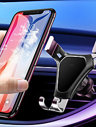 cheap -Gravity Car Phone Holder Air Vent Mount Universal Mobile Smartphone Holder For Phone In Car Support For Samsung S10 S9