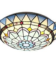 cheap -QIHengZhaoMing 30 cm Globe Design Flush Mount Lights Metal Glass LED 110-120V / 220-240V