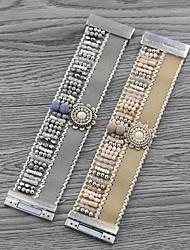 cheap -Women's Charm Bracelet Bracelet Bangles Bead Bracelet Braided Country Girl European Trendy Sweet Colorful Folk Style Acrylic Bracelet Jewelry khaki / Silver For School Daily Wear Date Vacation