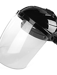 cheap -PC Raw Materials Transparent Lens Anti-uv Anti-shock Welding Helmet Face Shield Solder Screen Welding Face guard Motorcycle Goggles Scooter Glasses Full Face Brush Cutter