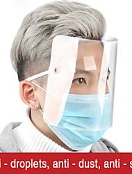 cheap -Transparent PVC plastic head wear droplet - proof face Helmet